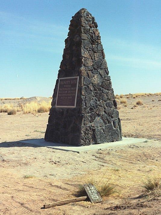Trinity Site Monument