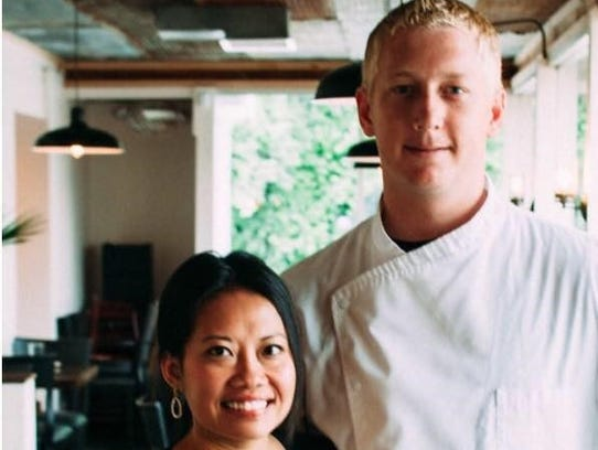 Jason McCollum and his wife Aenith McCollum opened
