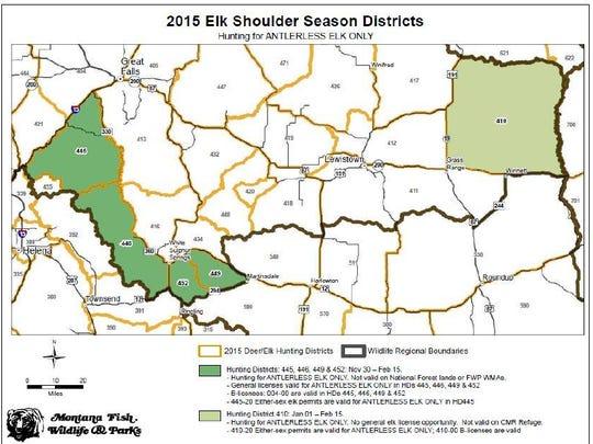 -shoulder season map