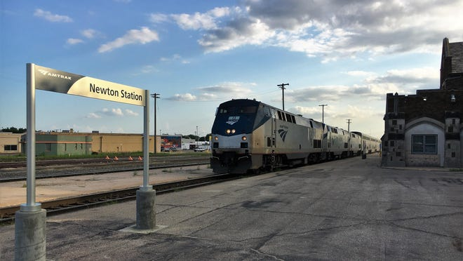 Amtrak is planning to furlough employees, and cute the frequency of long distance trains, in October if congress does not pass an aid package that contains funding for the railroad.