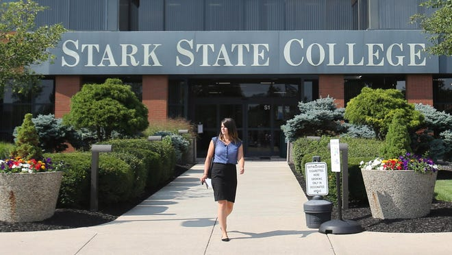 The Stark State College campus is shown in Jackson Township on Monday, July 17, 2017.
