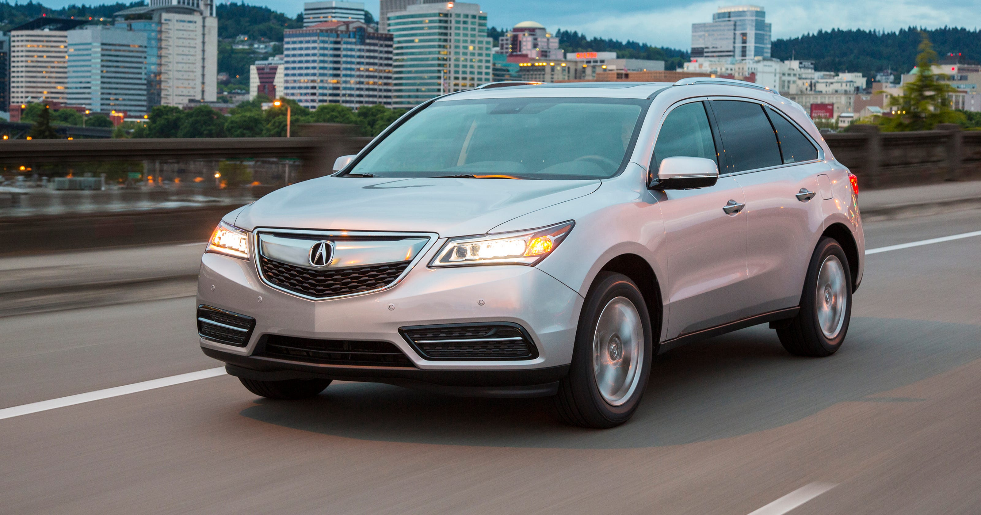 Test Drive Acura MDX Agile But A Tight Fit - Acura mdx replacement parts