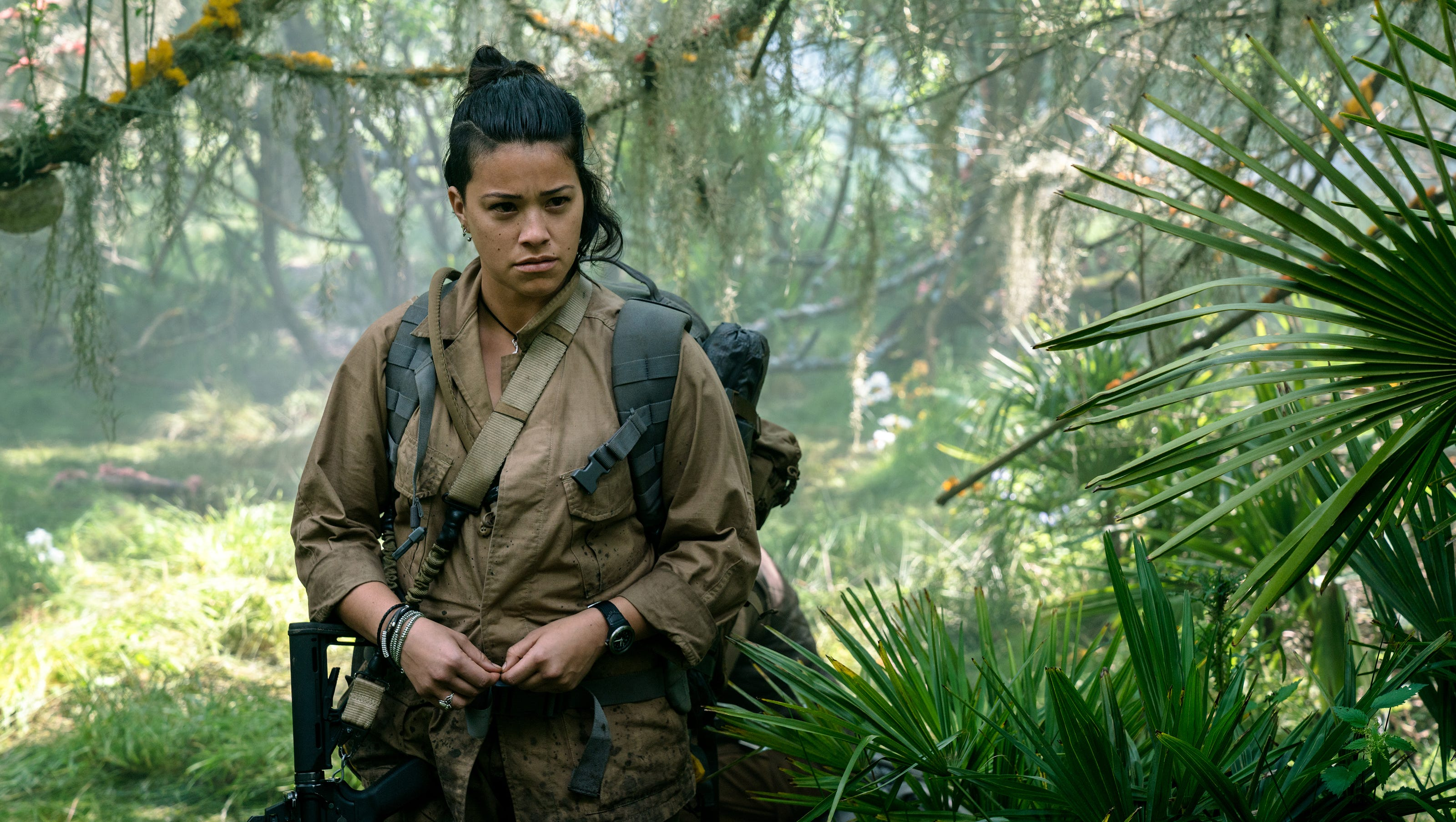 Annihilation': 'Jane the Virgin' star Gina Rodriguez goes wild