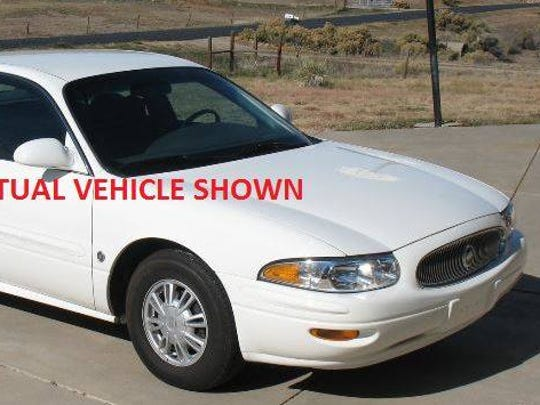 Buick LeSabre, the type of vehicle Charles McCullough was reported as driving Thursday morning. Police reported him as missing.