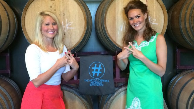 Social Media Club of Des Moines president Caroline Jones, left, and Alexandra Guzik, vice president, will stay at their posts for the next year. The club will introduce its next slate of leaders during an event next week.