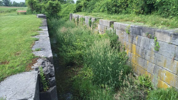 Lock 2 sits between two fields in Chili, a remnant to a bygone era.