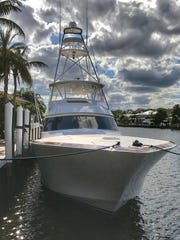 Miss Victoria is a private boat and anglers can win a chance to fish aboard her during the next sailfish season.