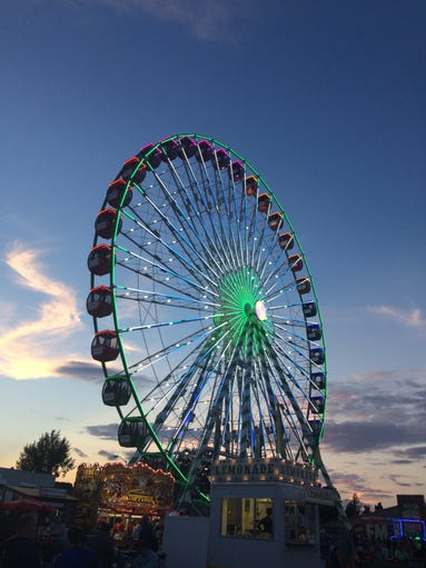 The WonderWheel Ferris wheel is a new attraction at
