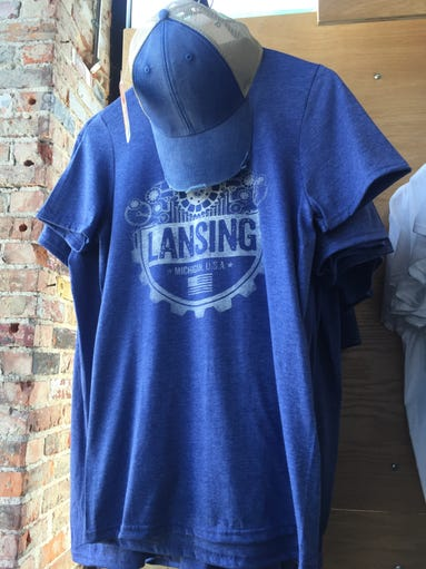This T-shirt, at Lansing Clothing Co., in REO Town,