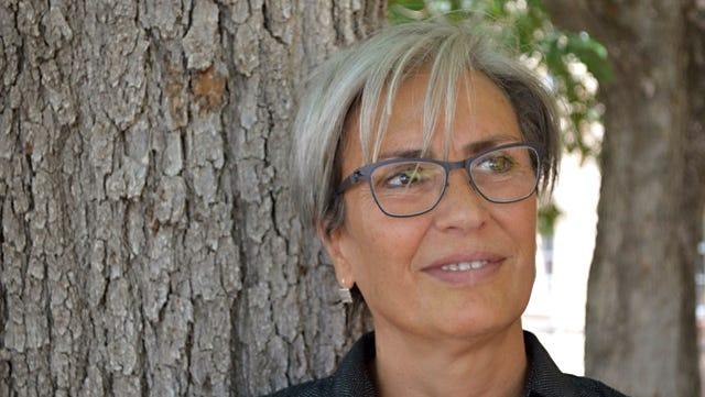 Manal Hamzeh, women's studies professor at New Mexico State University.