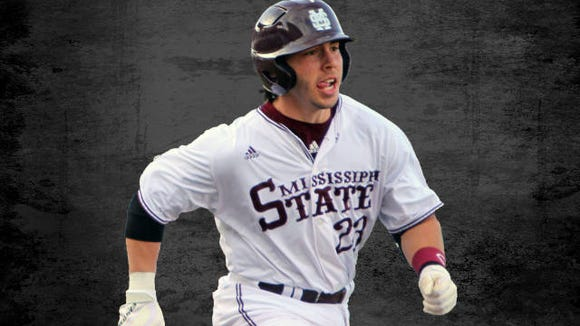 Mississippi State infielder Kyle Hann is no longer with the Bulldogs a team spokesperson said on Tuesday.