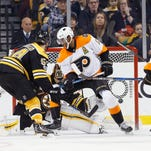 Bruins show just how far Flyers' defense has to go