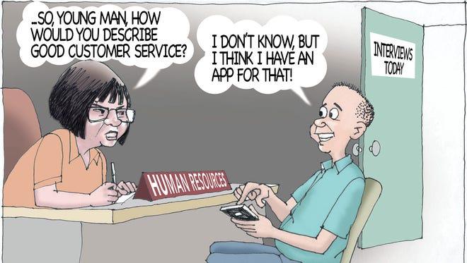 Sunday cartoon for Aug. 14. 2016