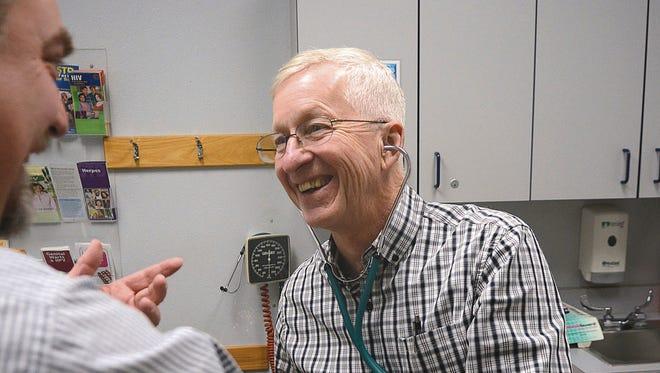 Doctor Glenn Jefferson in Lewiston, Idaho.