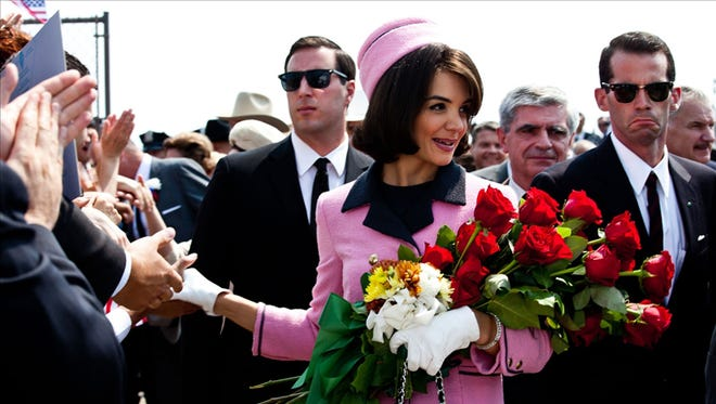 """Katie Holmes will reprise her role as Jackie Kennedy Onassis in """"The Kennedys - After Camelot"""", a follow-up to """"The Kennedys"""" miniseries for ReelzChannel. The four-hour miniseries, based on a book by Randy Taraborrelli, will begin production next year and is slated to air in 2016."""