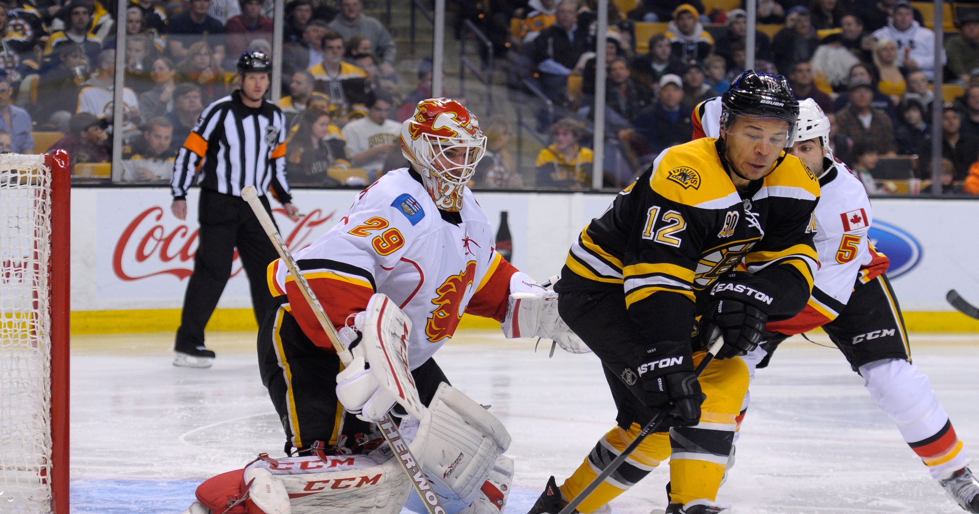 a475e149c34 NHL Roundup  Bruins douse Flames  Kings blank Oilers