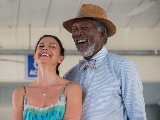 """Ashley Judd and Morgan Freeman in a scene from """"Dolphin Tale 2."""""""