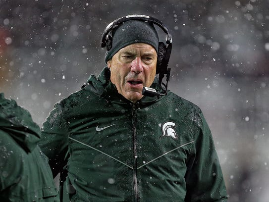 Michigan State missed a bowl game for the first time under Mark Dantonio last season.