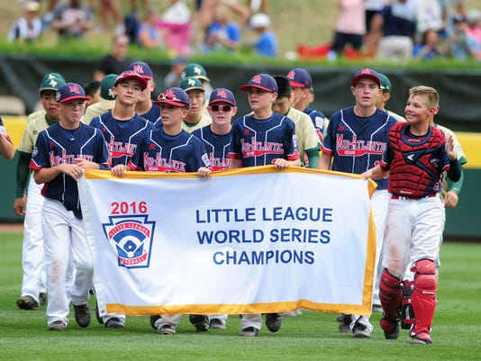 Baseball: Little League World Series-Asia-Pacific Region vs Mid-Atlantic Region