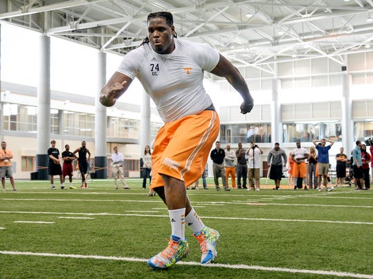 Tennessee Pro Day Football (2)