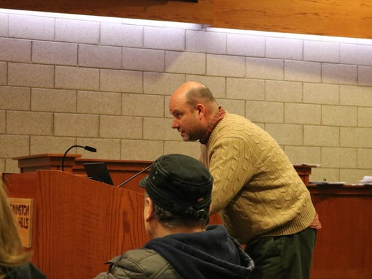 Chuck Garavaglia was one of several residents who spoke out against a special assessment to reconstruct roads in Independence Commons.