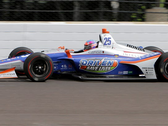 Row 8, starting 23rd: Andretti Autosport IndyCar driver