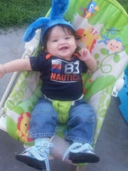 Today, at 2 years-old, Abdiel, while he still walks