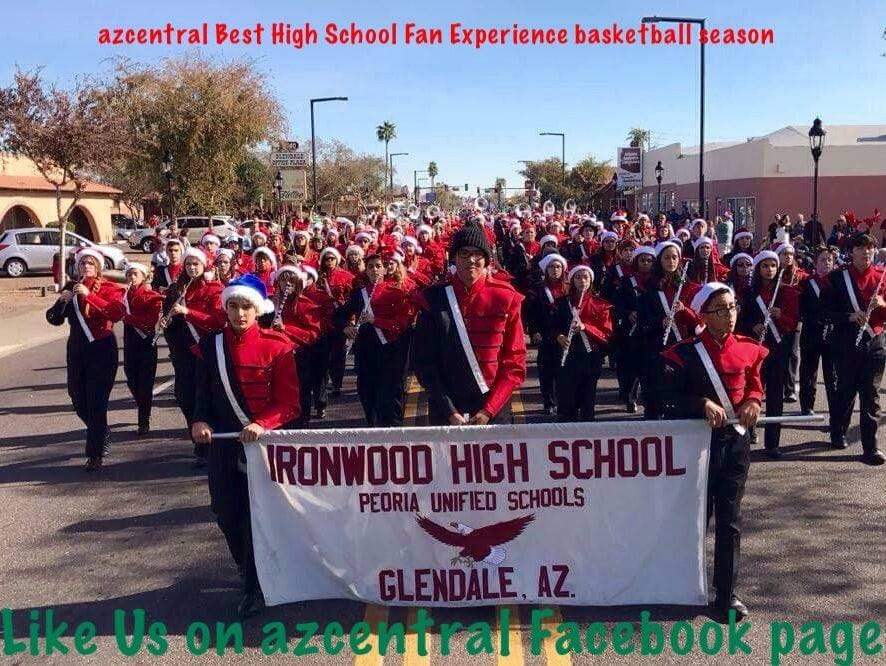 Glendale Ironwood is a co-winner of the azcentral.com Sports Awards Fan Experience for the basketball season.