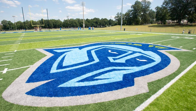 It was announced that the football field on campus will be named Pen Air Credit Union Field thanks to a million dollar donation from Pen Air to support the football program at the University of West Florida in Pensacola on Wednesday, September 7, 2016.