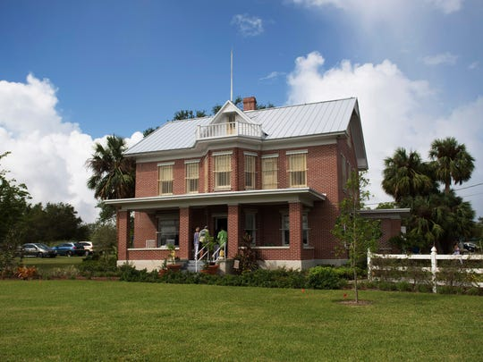The Indian River County Historical Society's Party at Pineapple Plantation at the historic Hallstrom House on Saturday, October 14, 2017 in Vero Beach.