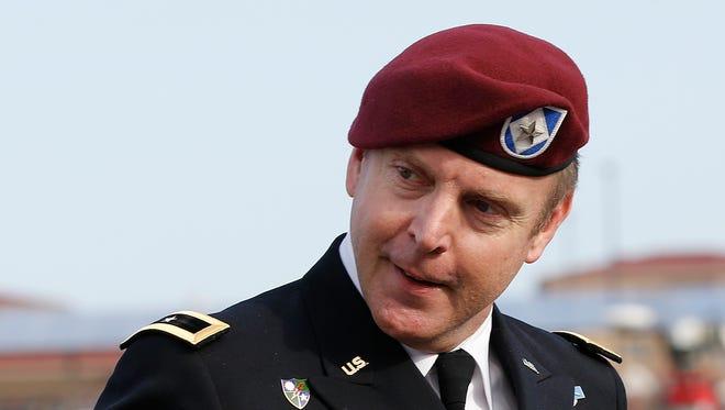 Army Brig. Gen. Jeffrey Sinclair