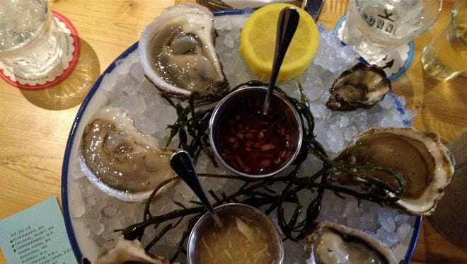 The raw oysters are a customer favorite at Connie and Ted's.