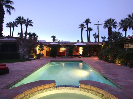 Photo of Casa Hermosa, a month long vacation rental property in Palm Springs.