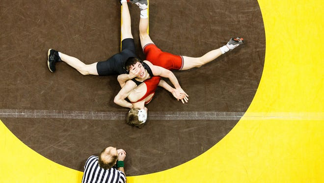 The PIAA Individual Wrestling Championships have started at Hershey's Giant Center.