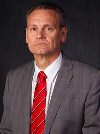 Bob Nielson is in his first year as coach at South Dakota.