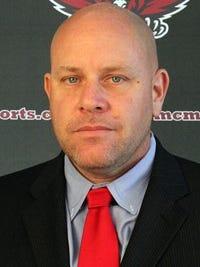 McMurry offensive coordinator Jeff Hancock