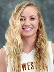 Kristin Rydell made a season-high four 3-pointers and