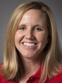Courtney Trimble, head coach for the University of Louisville's women's golf team.