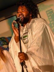 Tunde Olaniran performs at Artist Village Detroit