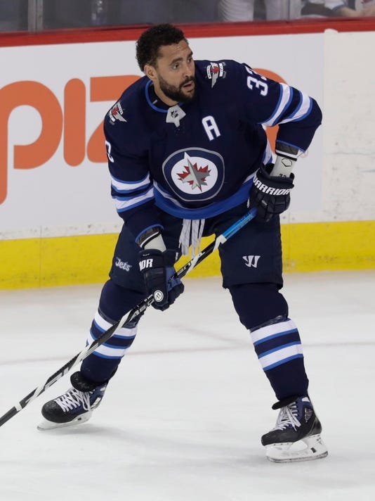 newest 5c408 a631d Jets' Dustin Byfuglien poses big problem for Golden Knights