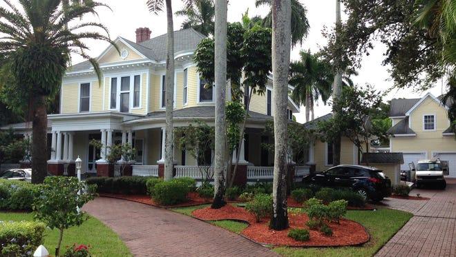 How the historic Heitman House looks today.