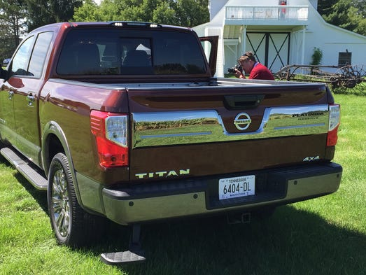 The 2017 Nissan Titan pickup adds power and features.