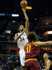 The role of Memphis Grizzlies forward Brandan Wright (34) is a work in progress.