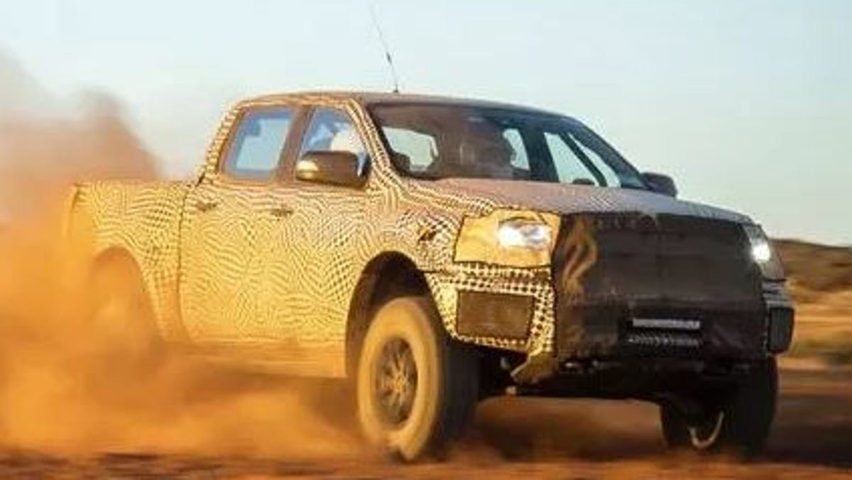 Ford Creates A Baby Raptor Off Road Pickup