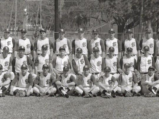 Jim Gurzynski, third from left in back row, signed