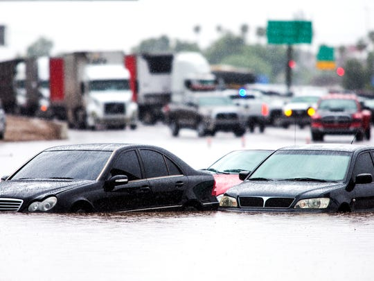 How deep can that flooded dip in the road be, really? Many drivers found out during September's record-setting storm.