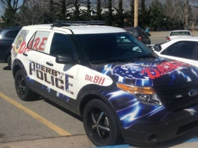 How Derby, Kan., Police Departmen has painted one of its units