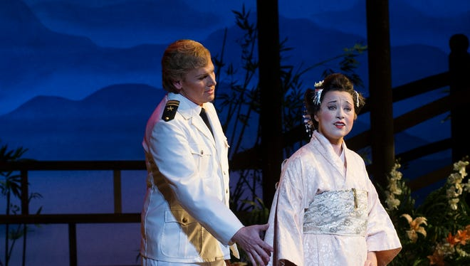 """""""Madame Butterfly""""was an audience favorite at Cincinnati Opera this year"""
