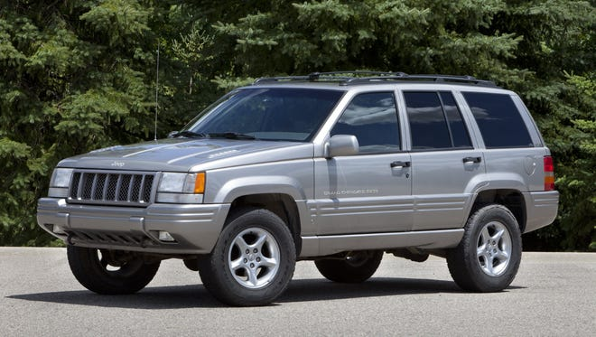 FILE - An undated file photo provided by Chrysler is of a 1998. It was among the 1.56 million Fiat Chrysler Automobiles agreed to recall in 2013.