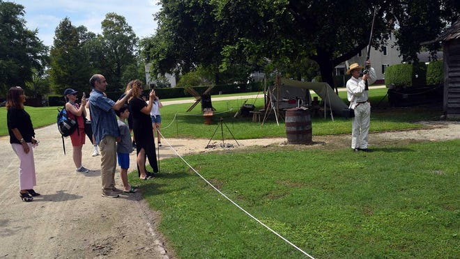 Tryon Palace, which is now open on a limited basis seven-days-a-week, has added live demonstrations about Revolutionary War life to the Garden Pass.